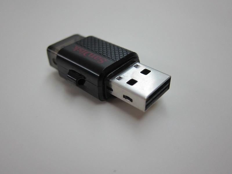 SanDisk Ultra Dual USB Drive - USB Head