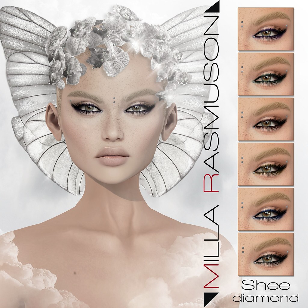 Shee Diamond for Lelutka Head - SecondLifeHub.com