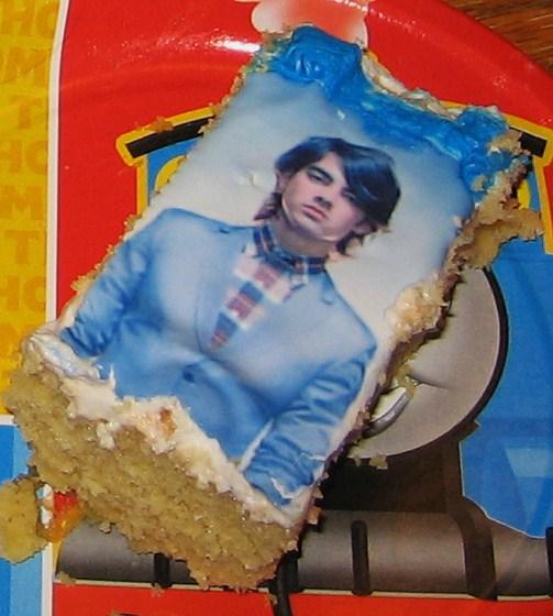 Joe Jonas Brothers Birthday Cake