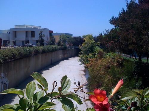 Windward School creek view