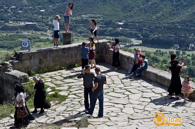 Turyści w Gruzji