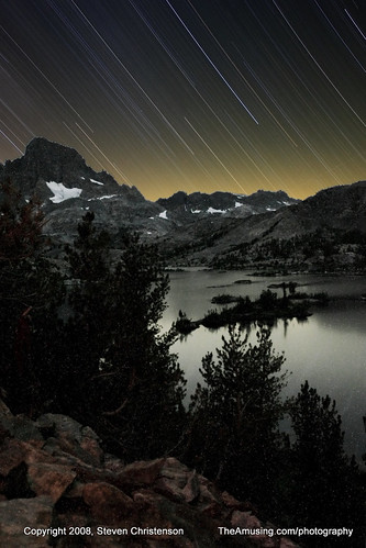 Garnet Lake Star Streak [41_00656] | by Steven Christenson