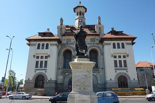 Image of  The Statue of Ovidius  near  Constanţa. landscape constanta constantza constanţa ovidius ovid urban