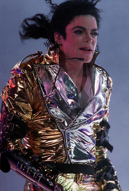 07/09/1996. CONCERT DE MICHAEL JACKSON A PRAGUE     LE 1ER DE SA TOURNEE MONDIALE