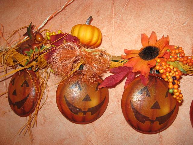 Herbstdeko Halloween Deko  Flickr  Photo Sharing!