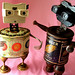 robot assemblage sculptures * BIANCA and GRANGER