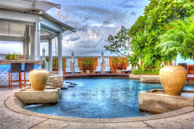 Photo for Jardines con piscinas desmontables