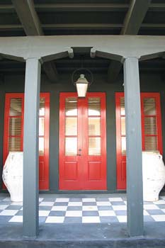 Good Millwork: Rosemary Beach Custom Mahogany Doors