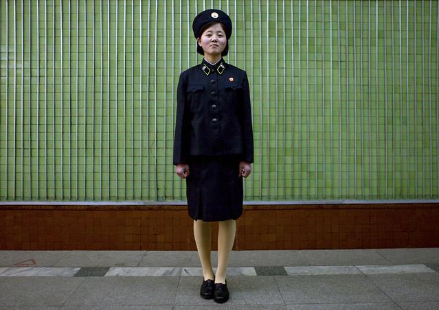 Subway girl's dream- Pyongyang North Korea
