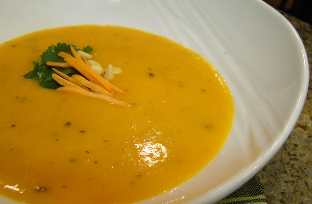 Cream of Carrot Soup by Vegan Feast Catering | Flickr