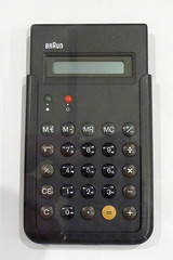 Braun ET 44 Pocket Calculator