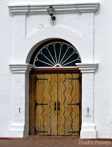 Doors to Mission San Luis Rey by Gypsy Mom