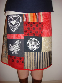 Prints Charming Scrap Pack Skirt