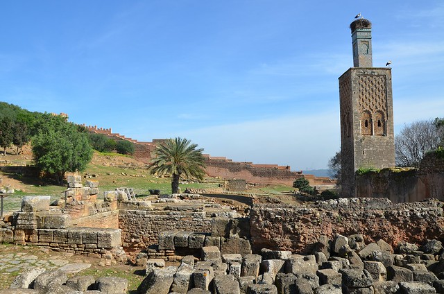 The ruins of the Curia Ulpia adjoining the basilica, Sala Colonia