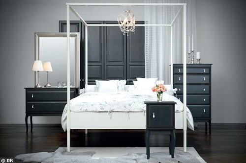 Wickelkommode Selber Bauen Ikea Malm ~ Ikea Edland Canopy Bed  Flickr  Photo Sharing!