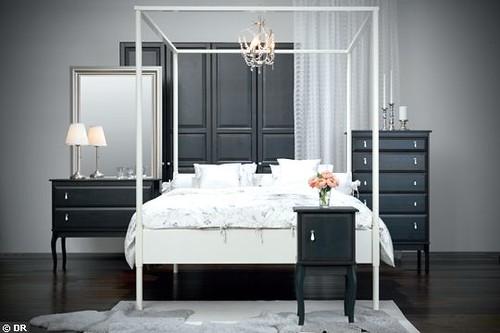 Ideas To Arrange Ikea Malma Mirror ~ Ikea Edland Canopy Bed  Flickr  Photo Sharing!