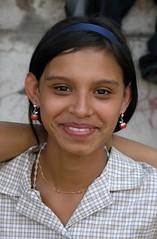 Muchacha risueña - Smiling girl in Jinotega, Nicaragua