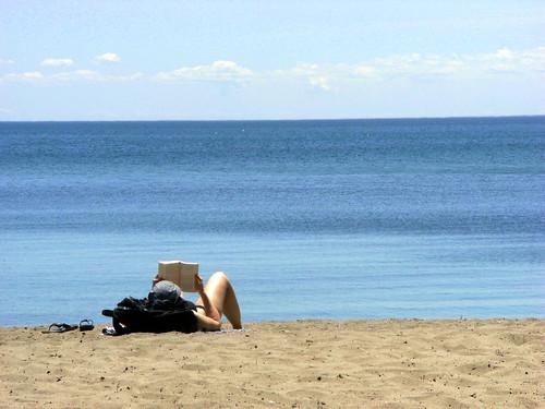 book & beach