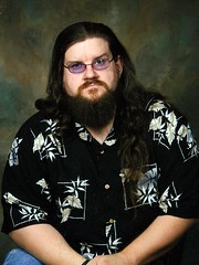 Fat Guy With Long Hair 120