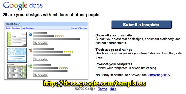 Google docs templates flickr photo sharing for Google docs award template