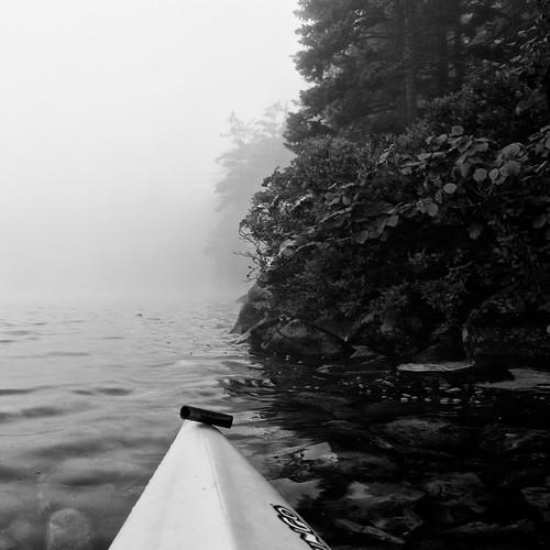 bw lake sunrise dawn rocks kayak 1755mmf28g lakesunapee newhampshirekayak