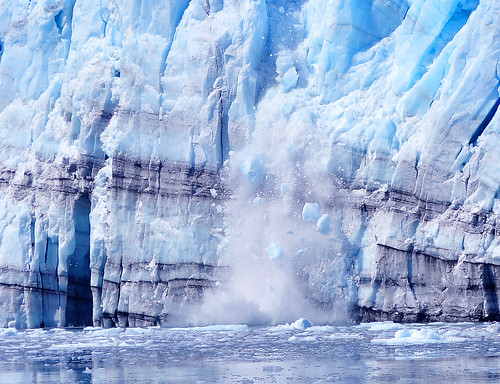 Calfing Glacier - Global Warming?