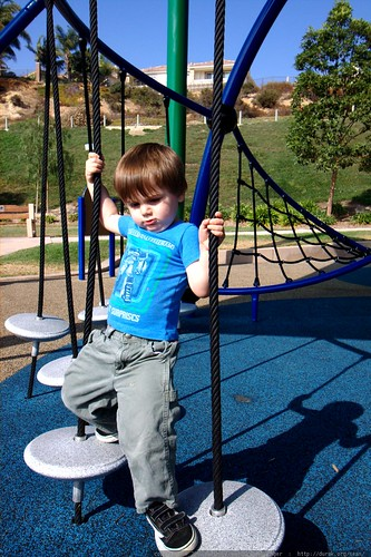 sequoia navigating the playground    MG 3608