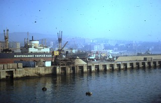 Bilbao from ferry c 1966