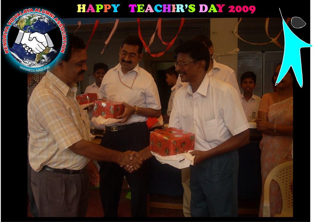 Teacher's day report by Secretary