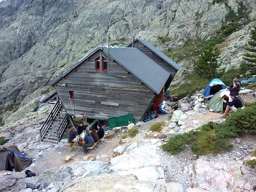 Refuge de Tighjettu sur le GR20