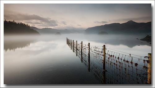 england mist lake water sunrise landscape dawn northwest derwent lakes lakedistrict cumbria keswick gitzo borrowdale sigma1020 leefilters samsunggx20 koodfilters steveboote