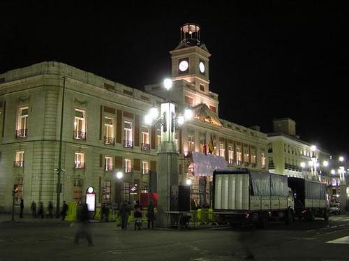 Puerta del sol madrid flickr photo sharing for Reloj puerta del sol madrid
