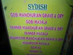 SYDISH??? Grave & Dry!! :P