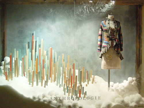 Washington, DC - Anthropologie Holiday Window