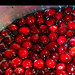 soon-to-be cranberry sauce