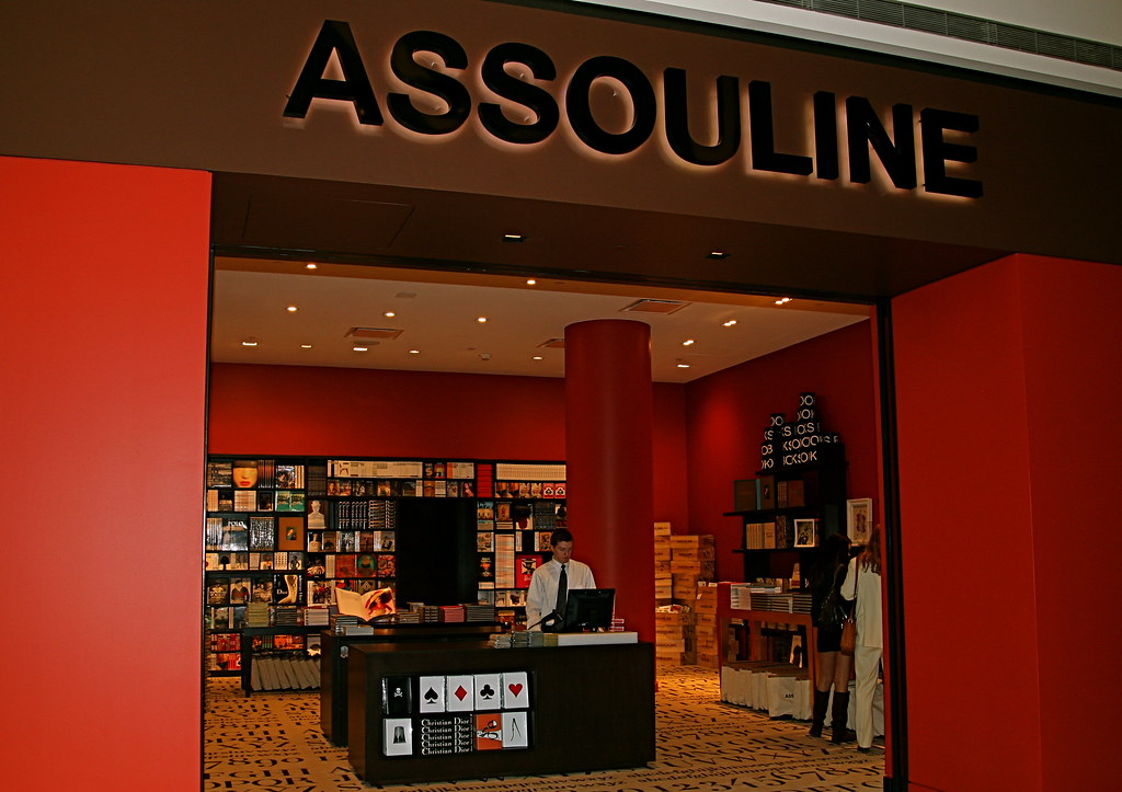 Assouline Book Store at the Crystals
