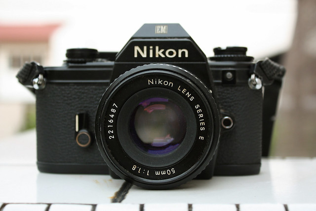 Vintage Nikon EM