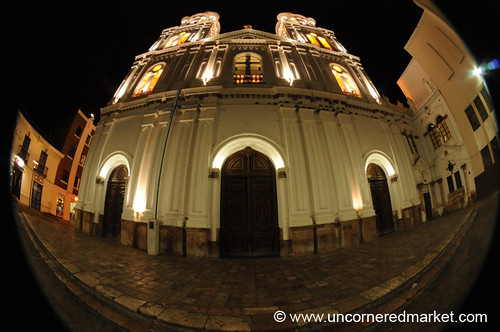 nightphotography church ecuador iglesia fisheye cuenca dpn santodomingochurch