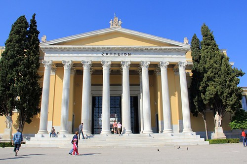 A Walk through the Historic Part of Central Athens, Greece