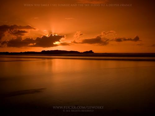 summer sun beach sunrise coruña sunrays cokin arteixo sabon lewosky gettyvacation2010