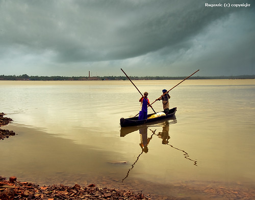 travel light sunset sea sky india holiday color reflection water silhouette clouds river relax boat google interesting nikon exposure heaven earth rags rustic charm explore monsoon nostalgic leisure lonelyplanet karnataka nationalgeographic relevant kundapur kundapura d700 lpfloating