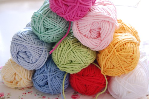 cotton yarn for my granny squares