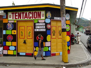 Tentacion Gift Shop and Street Scene - San Jose de Ocoa - Dominican Republic