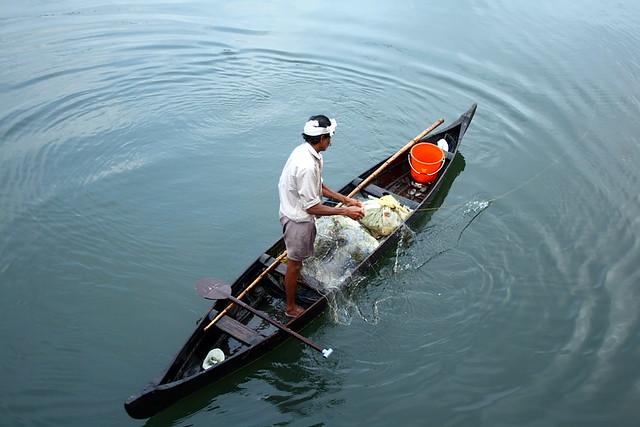 trolling fishing in kerala rivers