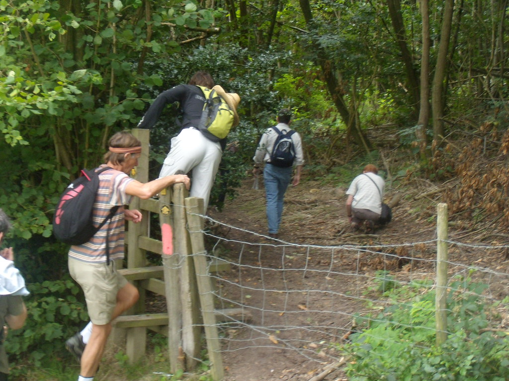 Over a stile Cowden to Hever