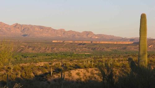 arizona usa mountains cacti landscapes desert unitedstatesofamerica gps 2009