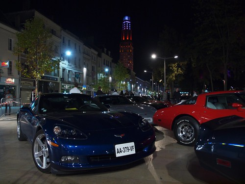 CORVETTE NIGHT RACE BLUE