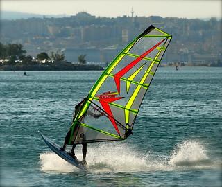 windsurf Barcola TRIESTE