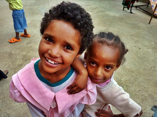 Hawan and Rahel, Mercy Home, Ethiopia