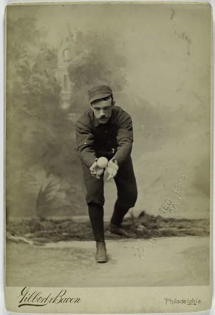 Posed Portraits Of 19th Century Baseball Stars The Public Domain Review